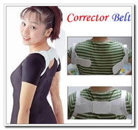 Back   High quality Back Posture Shoulder Support Band Belt Brace Corrector Belt ,Dropshipping