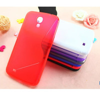 PC For Apple iPhone For Christmas Soft S Line Case TPU Gel S Wave Skin Back Cover Case for Samsung Galaxy mega 6.3 i9200 20pcs