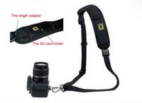 Wholesale New Light amp Quick Shoulder Belt Strap for SLR DSLR Camera canon sony nikon high quality