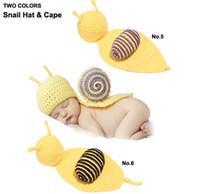 Cheap Boy crocheted hat Best Winter Crochet Hats snail hat