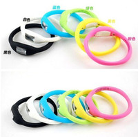 atm silicone bracelets - Sakura s Store Free shippping colors Fashion Sport Watch ATM Silicone Anion Ion Silicone Bracelet LED Watches g