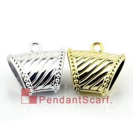 50PCS LOT, Top Fashion 2 Colors Mix DIY Jewellery Scarf Pendant Striped Shine Plastic CCB Slide Bails Tube, Free Shipping, AC0079MIX