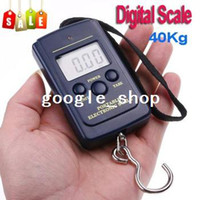 Hanging Scale <50g 40Kg/88Lb/1410oz 15pcs lot Luggage Fishing Weight Digital Scale 20g 40kg 20g-40kg, freeshipping wholesale