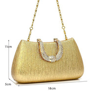 Wholesale 2013 New Arrival Luxurious Gold Silver Bridal Hand Bags Suit for Wedding Evening Party Event