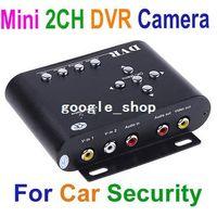 car security camera - car dvr HD Durable CH Car Security Mini DVR SD Video Audio CCTV Camera Recorder freeshipping