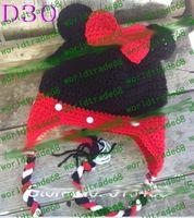 Summer baby honey bear - Handmade Knitted Crochet Baby Hat owl hat Monkey Hat Angel Kitty Hat Honey Bear hat Bunny Ears Hat