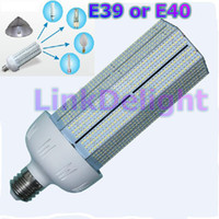 Wholesale 1pc lm E39 E40 W SMD3528 LED corn warehouse Street Light degree Energy saving lamp replace CFL bulb W