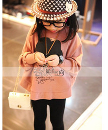 Wholesale Hot sale Spring with long sleeves T shirt Children round collar design