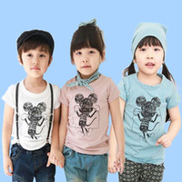 Wholesale Tee Shirt Children T Shirts Kids Summer Cartoon Printed Casual T Shirt Fashion Round Neck Shirts Child Short Sleeve T Shirt Boys Clothes