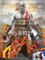 Finished Goods armor kid - Retail NECA GOD OF WAR KRATOS IN ARES ARMOR BLADES PVC Action Figure Toy quot cm MVFG046