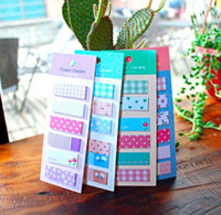 Wholesale Flower Garden Sticker Post It Bookmark Marker Memo Flags Index Tab Sticky Notes