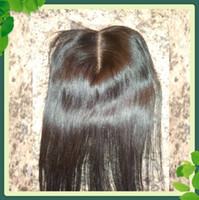 Free Shipping Lace Closure Middle Part Straight Natural Colo...