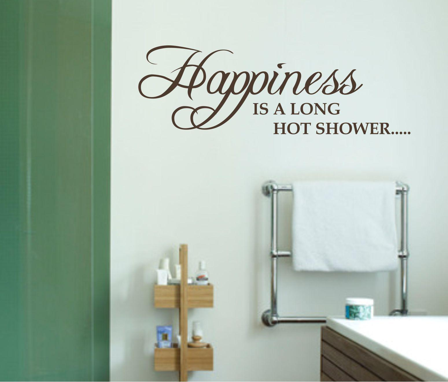 Free cute bathroom sayings just bcause for Cute sayings for bathroom walls