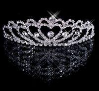 Cheap Crown accessories Best Rhinestone/Crystal  silver wedding