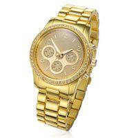 Wristwatches China (Mainland) Yes 1pcs fashion Neutral watch Japan PC21 movement steel band quality watch quartz crystal watch free shipping