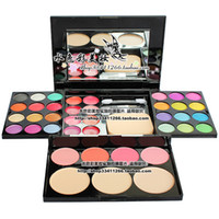 Wholesale Cosmetic makeup box palette make up in1 one set eye shadow eyeshadow lip gloss blush powder