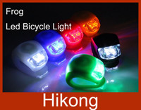 Wholesale Frog LED Bicycle Light Lamp Waterproof Silicone Mountain Bike Light Rear Wheel Lamp Taillight For Outdoor Riding