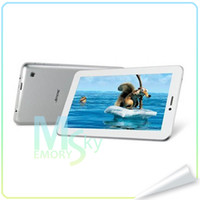 Wholesale AMPE A77 MTK6515 Tablet PC Inch Android G GSM Phone Calling Wifi Bluetooth MB RAM GB Dual Camera