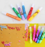 Wholesale Drop Shipping Magic DIY Popcorn Paint Pen Puffy Embellish Decorate Bubble Graffiti Stationery H0477
