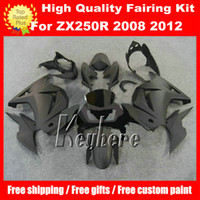 Wholesale Free gifts fairing kit for Kawasaki Ninja ZX250R EX250 R G5m fairings new all flat black body
