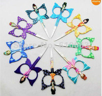 Wholesale Cute Angel Curved Edge Trimming Embroidery Tailor Sew Craft Shears Scissor J1