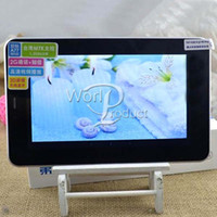 Wholesale Best Selling AMPE A77 MTK6515 Android G GSM Phone Call inch Tablet PC Wifi Bluetooth MB GB Dual Camera