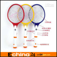 Wholesale Electronic Mosquito Racket Insect Bug Electric Fly Zapper Swatter AL Plug