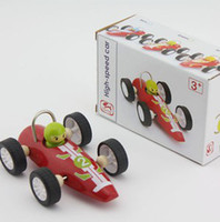 Wholesale Best toys Hot Fast racing car toys children wooden educational toys car cartoon villain Sports toys