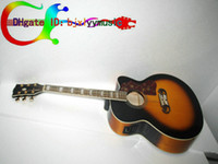 Wholesale Custom Fishman Acoustic Electric Guitar Very nice Dreadnought Vintage Classical Guitars