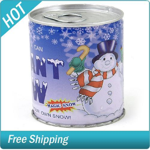 Instant snow can artificial water powder retail