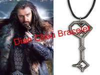 Wholesale Freeshipping pc a The Hobbit necklace Thorin Oakenshield s Silver Rune necklace CV02