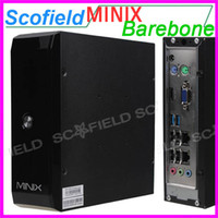 Wholesale Barebone System MINIX MINI HD PC Intel D2550 CPU HDMI VGA No memory No Hard disk