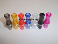 Wholesale Clear Mouth Drip Tip Mouthpiece Electronic Cigarette Accessories for Ego Serise CE4 CE4 CE5 CE5 CE6 Clearomizer Atomizer