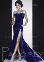 Reference Images Sweep Train Sheath/Column 2013 Pageant Dresss New Sexy V-neck Cap Sleeves Beaded Crystals Front-slit Party Dresses Stuning Shining Evening Gown Prom Dress P14593
