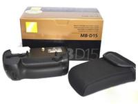 Wholesale New Arrive piece MB D15 MBD15 Battery Grip for D7100 Camera EN EL15 Battery