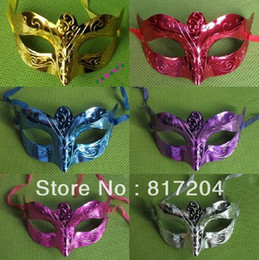 new fashion mask party masquerade colorful plated handmake mask Venetian Masquerade ball mask free shipping 20pcs lot