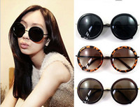 Wrap Woman Waterproof Wholesale - 2013 Super Cool Japan and Korea lovely round frame sunglasses, big round glasses, Prince mirror