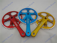 Wholesale Single Speed Bicycle Cranksets Chainwheel CNC bike parts Fixed Gear Bike Chainwheel