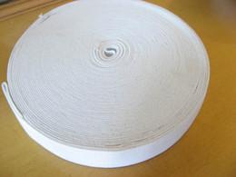 Wholesale Roll White Garment Sewing Accessories Elastic Webbing Band Meters Sewing Elastic cm wide