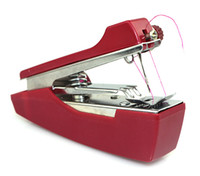 Wholesale Mini Chain Stitch Sewing Machine Free Arm Sewing Machine Red Y4014C
