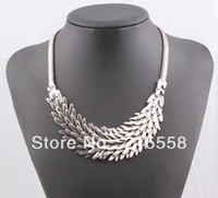 Wholesale Hot Fish Scale Statement Necklace Ladies Punk Vintage Spilliness Choker Collar Necklace ZN03