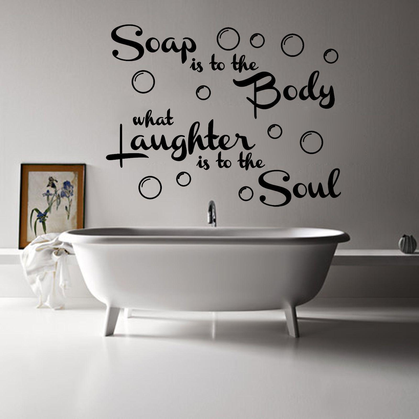 Bathroom wall decor quotes - Bathroom Wall Art Quotes Makipera Home Decor