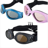 Wholesale Three Colours Eye Wear Protection Pet Doggles Goggles Dog UV Sunglasses