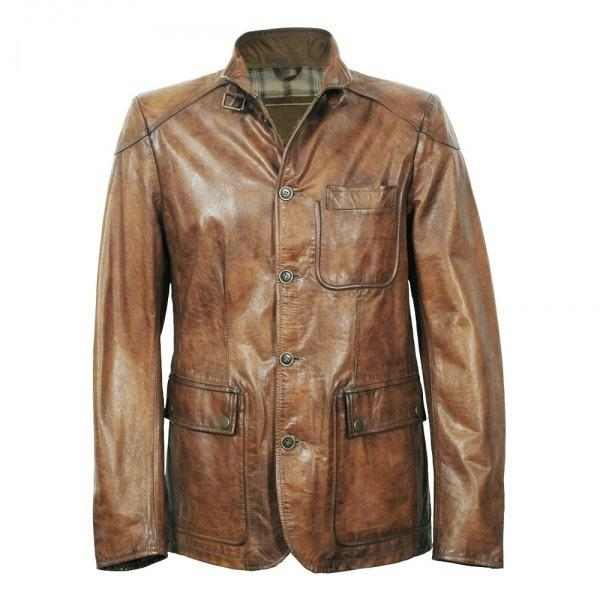 Designer Men Leather Jacket Western Suit Style Business Casual ...