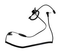 Wholesale 1 Pin Ear Rod Headphone for Motorola Two way Radios mm jack T6200 T6210 T6220 T6250 T270 T280 T289 T5100 New Black C029
