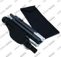 PVC 127CM Aluminum NEW Aluminium Collapsible Walking Stick six Section Nylon Pouch packing For Outdoor&Sports LLY214