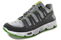 Wholesale Latest Salomon RX Prime with more comfortable footbed for mens walking shoes grey