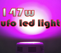 Wholesale 147W LED Grow Light Spectrums IR Indoor Hydroponic System Plant UFO W led light