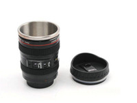 Wholesale CPAM stainless steel Coffee camera lens mug cup Caniam logo the th generation Canon Lens Cup Novelty Gift Mug coffee cup