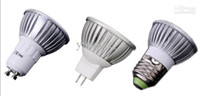 Wholesale x Promotion Retail High power CREE W x3W GU10 MR16 E27 Led Light Lamp Spotlight Led Bulb